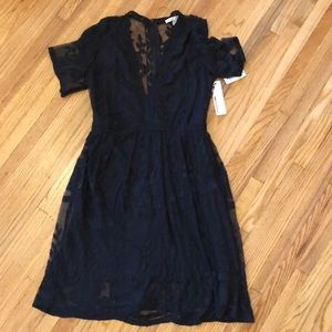 Dresses & Skirts - Rockabilly Black Lace Dress